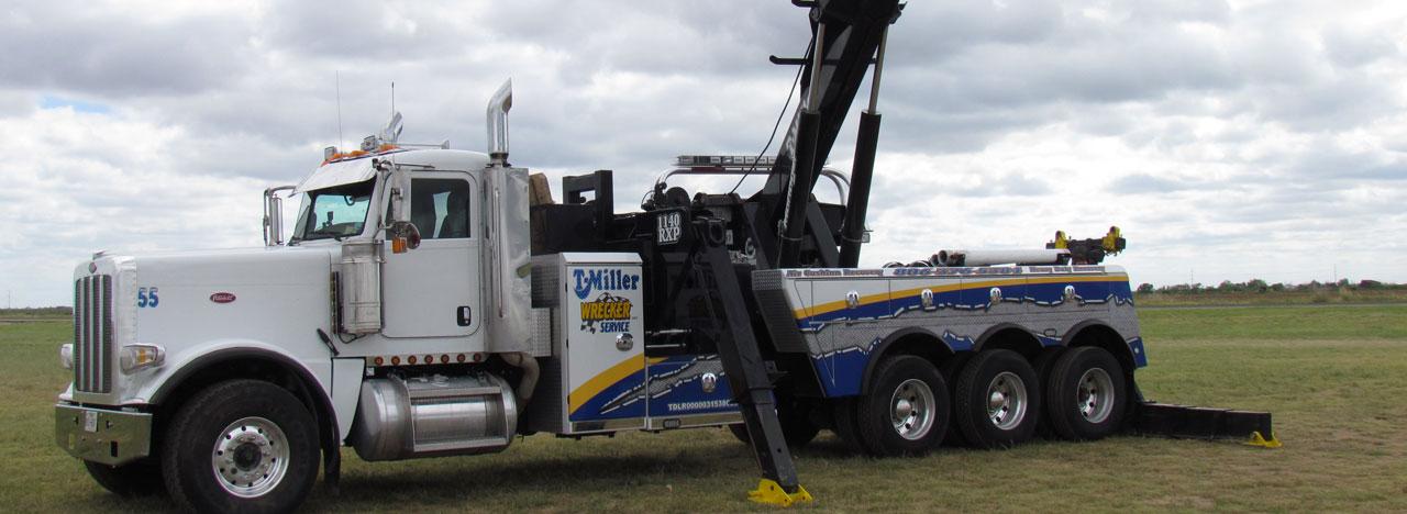 towing amarillo tx - T Miller Wrecker ServiceT Miller Wrecker Service